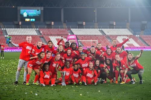Campeonas Supercopa Femenina Fútbol