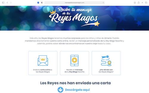 Almería Web Reyes Magos
