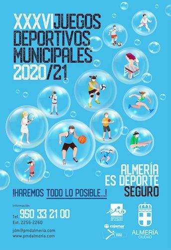 Almería Juegos deportivos municipales