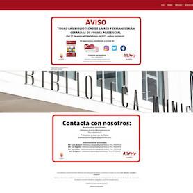 Almería Cultura bibliotecas Covid