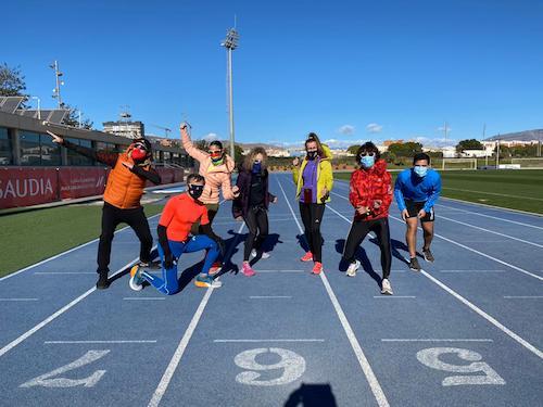 Atletas master Almería deportes