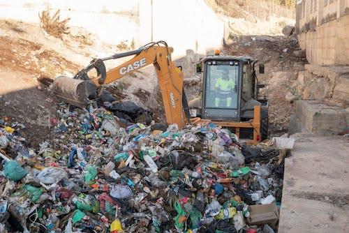 Almería limpieza barranco Caballar