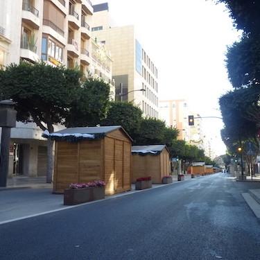 Paseo de Almería Navidad