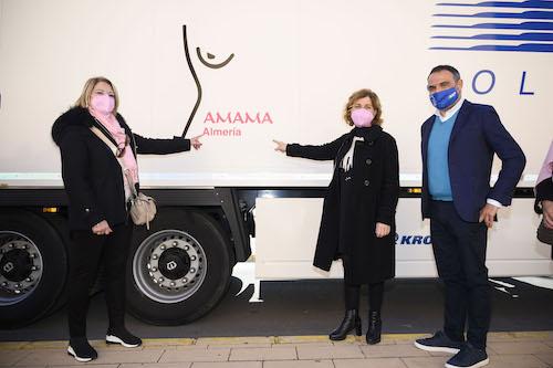 Camión solidario AMAMA Almería