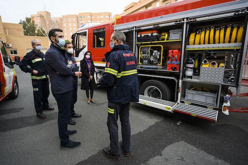 Almería nuevos vehiculos bomberos