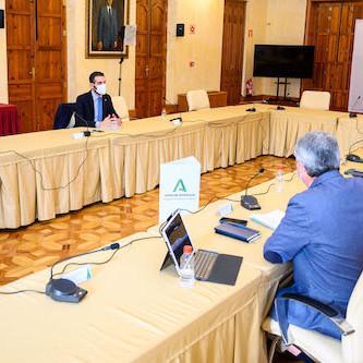 Alcalde Almería delegación Junta