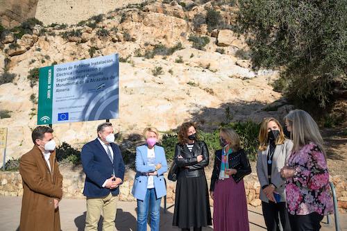 Obras rehabilitación Alcazaba Almería