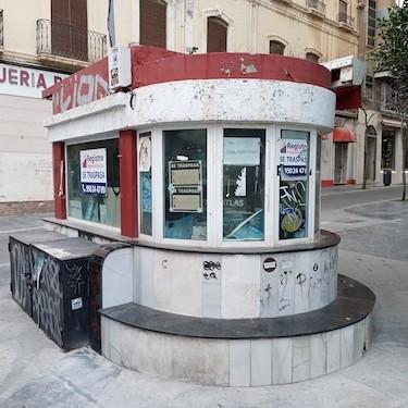 Almería quioscos protegidos
