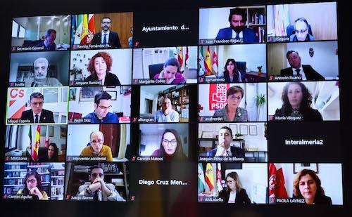 Pleno telemático Ayuntamiento Almería