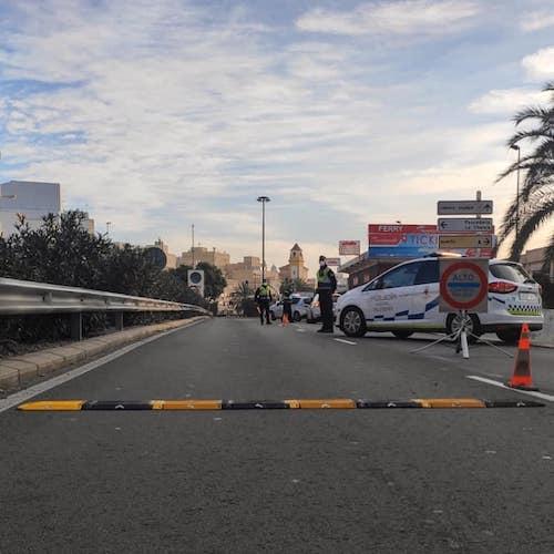 Control Covid Policía Almería
