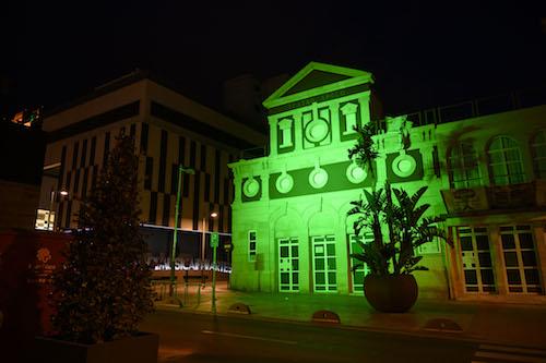 Almería iluminación apoyo enfermedades