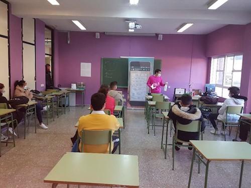 Almería taller educación igualdad