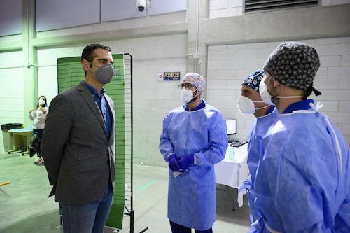 Almería vacunación masiva Covid