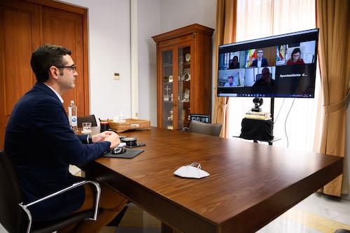 Ayuntamiento Almería reunión costas