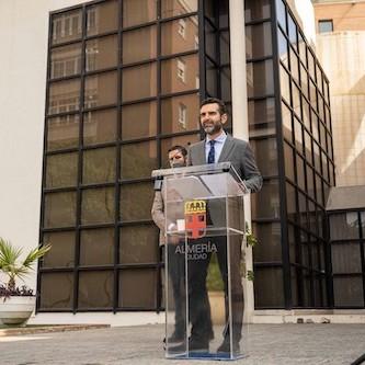 Alcalde Almería presentación presupuestos