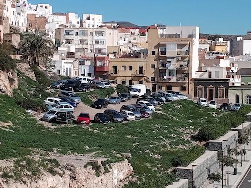 Almería solares aparcamientos centro