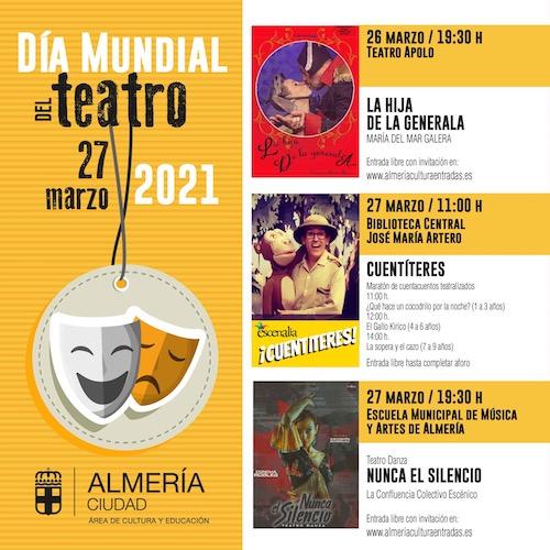 Día del Teatro Almería