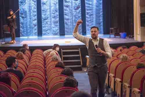 Almería cultura teatro Hambre