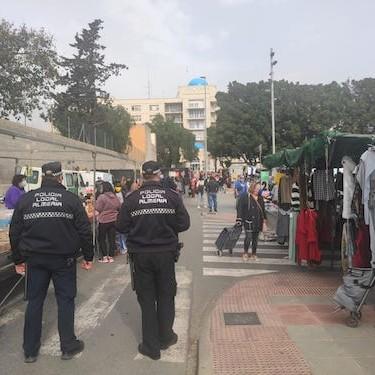 Almería policía local Covid
