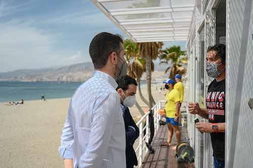 Alcalde Almería dispositivo playas
