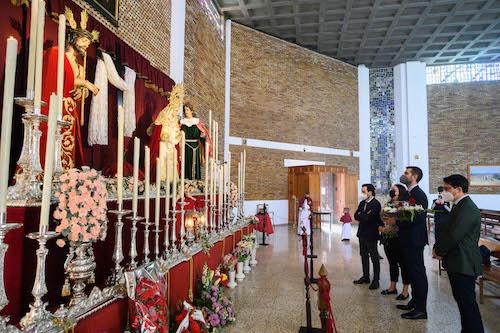 Alcalde Almería visita hermandades