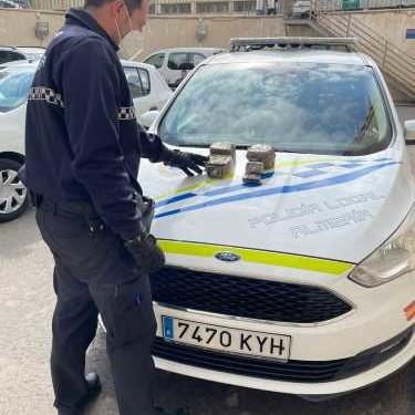 Policía Almería incautación marihuana