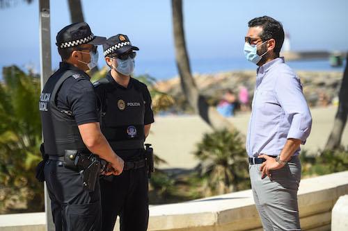 Almería Plan Playas SemanaSanta