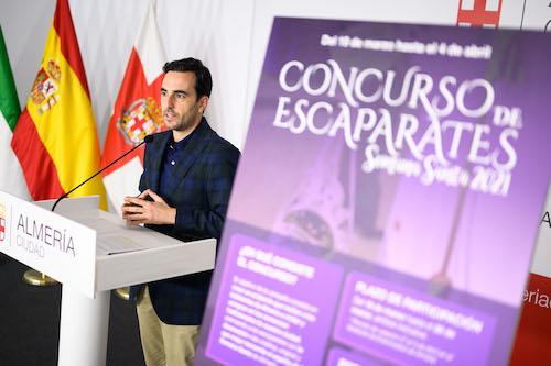 Almería escaparates Semana Santa