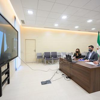 Ayuntamiento Almería reunión ADIF