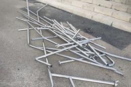 Almería vandalismo urbanos destrozos