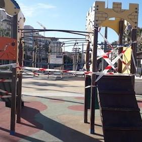 Almería restricciones Covid parques