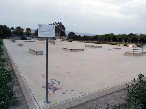 Almería deportes pista skate