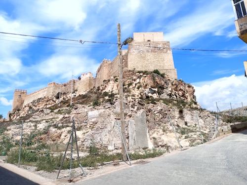 Almería obras calle Almanzor