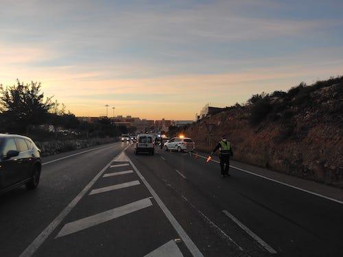 Almería control policía Covid
