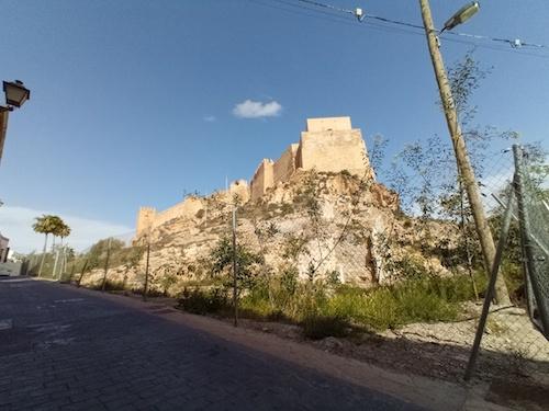 Almería proyecto entorno Alcazaba