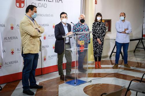 Almería exposición escuela artes