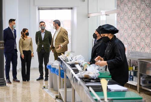 Inauguración Escuela Hostelería Almería