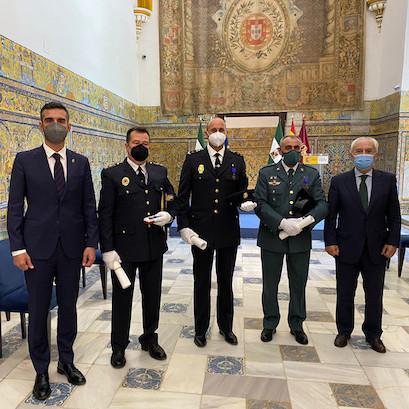 Alcalde Almería medallas mérito
