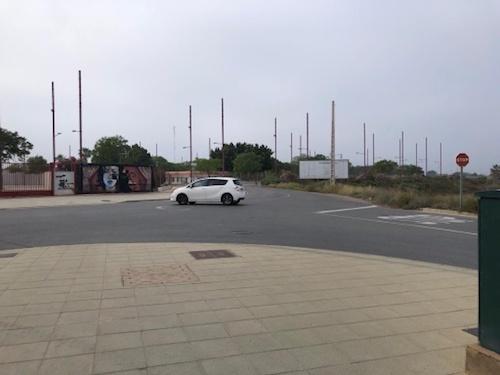 Almería rotonda La Goleta