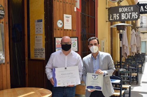 Hostelería Almería diplomas SICTED