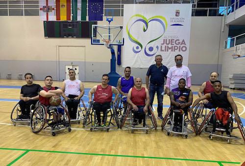 Almería deportes baloncesto sillaruedas