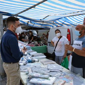 Almería mercadillos seguros Covid