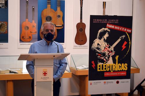 Almería museo guitarras electrícas