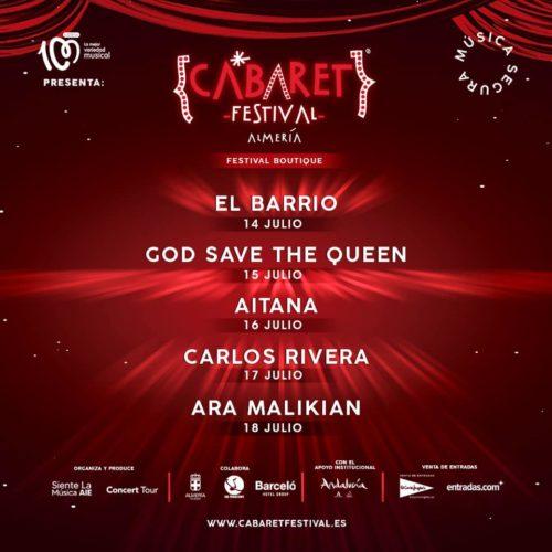 Almería Cultura Cabaret Festival