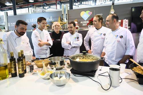Encuentro chefs Almería gastronomía