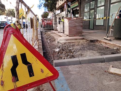 Almería obras mejoras calles