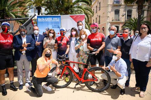 Ciclistas esclerosis múltiple Almería