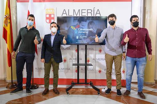 Presentación comercios Conectando Almería