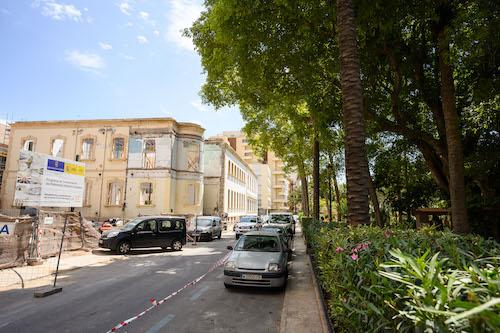 Almería entorno Hospital provincial