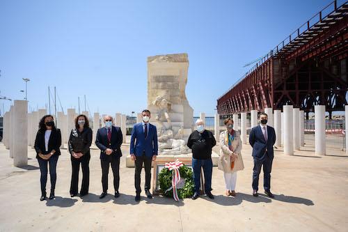 Ayuntamiento Almería homenaje Mauthausen